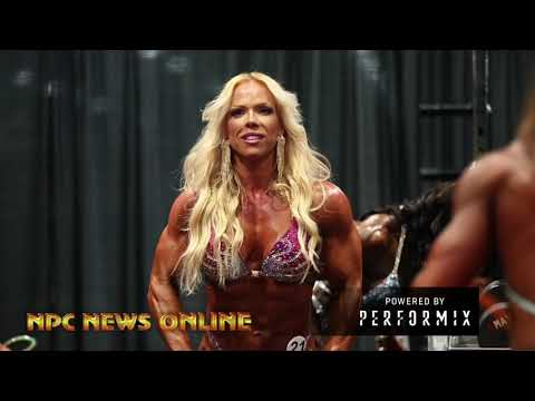 2018 Olympia Women's  Physique Backstage Part 1