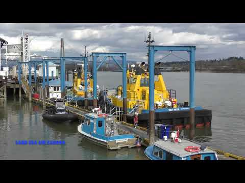 PACIFIC tugboat SMIT tugs return to base 2018