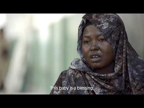 Born in Somalia