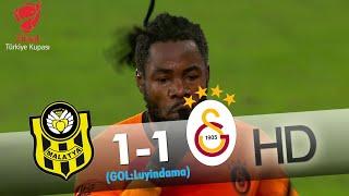 Yeni Malatyaspor: 1 - Galatasaray: 1 | Gol: Luyindama