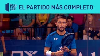 El partido (casi) perfecto de Sanyo Gutiérrez | World Padel Tour