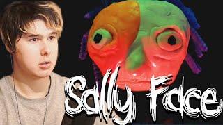 ПОЧЕМУ САЛЛИ СТАЛ ТАКИМ ?! Sally face 5 эпизод