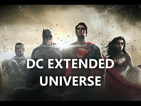 Upcoming DC Films, Justice League, Aquaman and More!