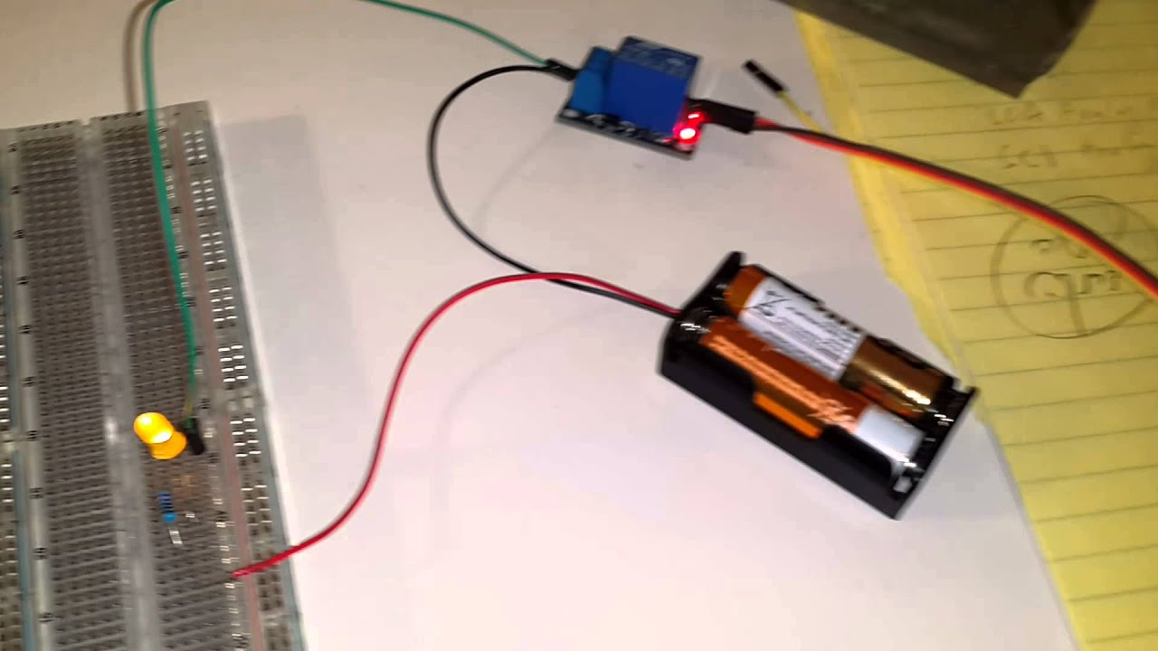Relay Module With The Arduino Uno Code Youtube Wiring