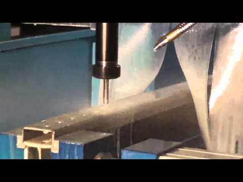 CMA Tube drilling with Rapid Drill TRD