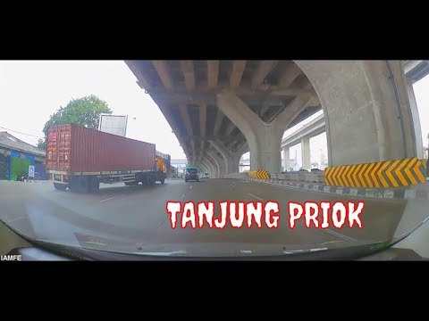 MAIN STREET OF TANJUNG PRIOK - NORTH JAKARTA INDONESIA