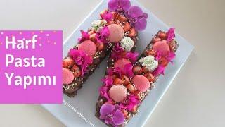 HARF PASTA YAPIMI ( Kekten harf pasta nasıl yapılır ? )