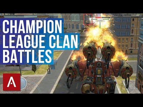 EPIC Clan Battles VØX vs CDXX | War Robots iOS Clan Battle Gameplay