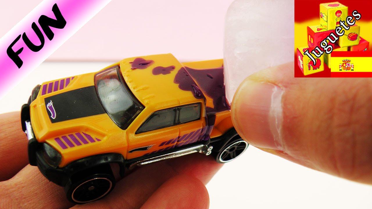 hot wheels colour shifters auto que cambia de color de naranja a lila youtube. Black Bedroom Furniture Sets. Home Design Ideas
