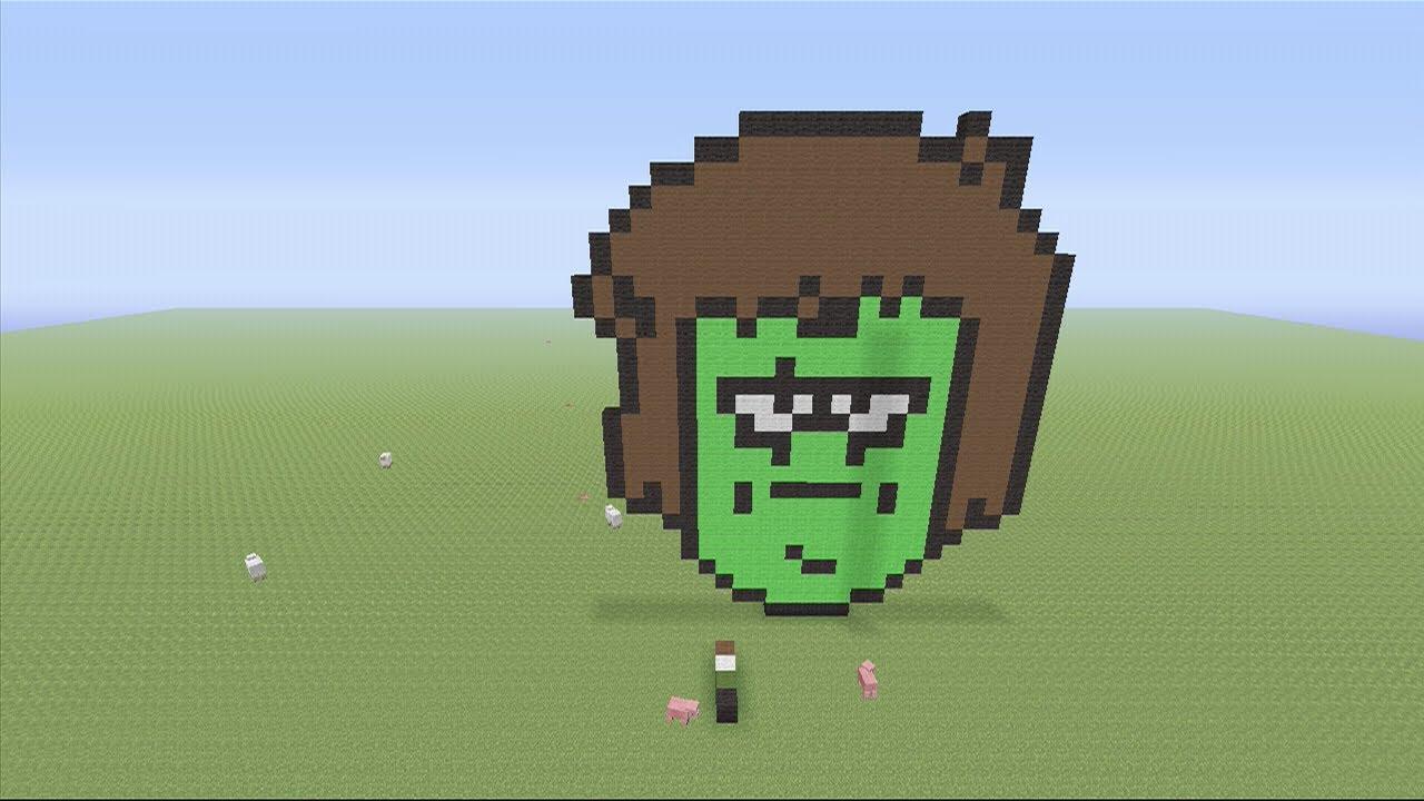 Minecraft 360 Edition: Muscle Man Pixel Art Tutorial ...  Minecraft
