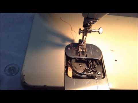 Singer Touch and Sew WINDING BOBBIN THREAD Golden 750 Deluxe Zig Zag Model
