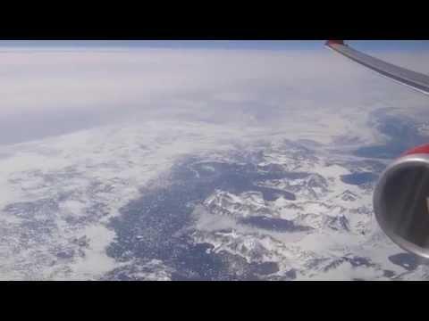 Überflug grönländische Ostküste in der Gegend von Isortoq