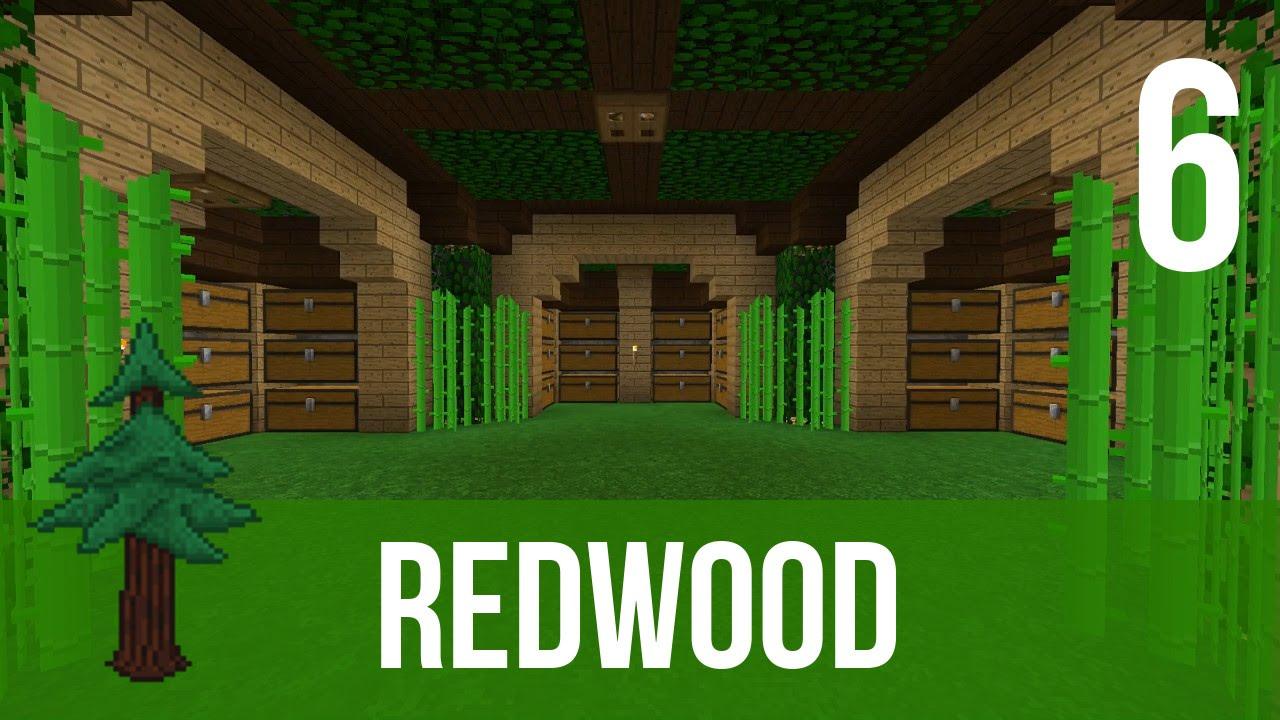 redwood la salle des coffres minecraft fr youtube. Black Bedroom Furniture Sets. Home Design Ideas