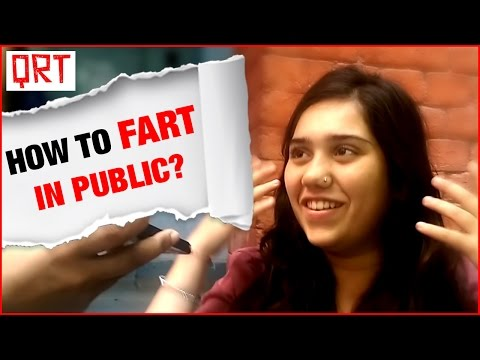 Thumbnail: Farting in Public | Awkward Moments | Quick Reaction Team | 2016 Latest Comedy Videos