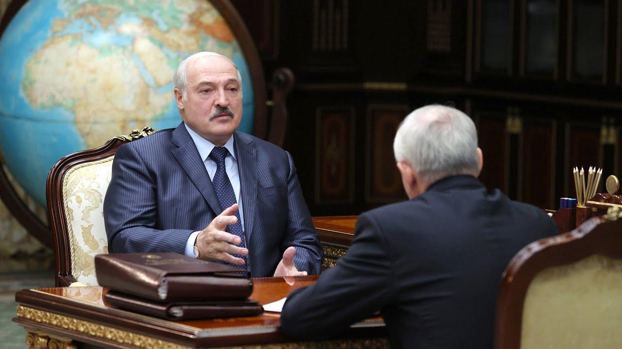 Лукашенко принял отставку Шеймана Я честно благодарен тебе за всё что сделано