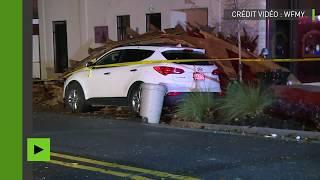 Etats-Unis : de fortes tempêtes s'abattent sur la Caroline du Nord et du Sud