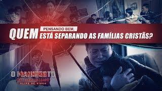 """Filme evangélico """"As mentiras do comunismo"""" Trecho 5 – Pensando bem, quem está separando as famílias cristãs?"""