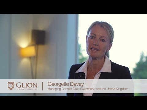 Georgette Davey introduces the Glion Programs