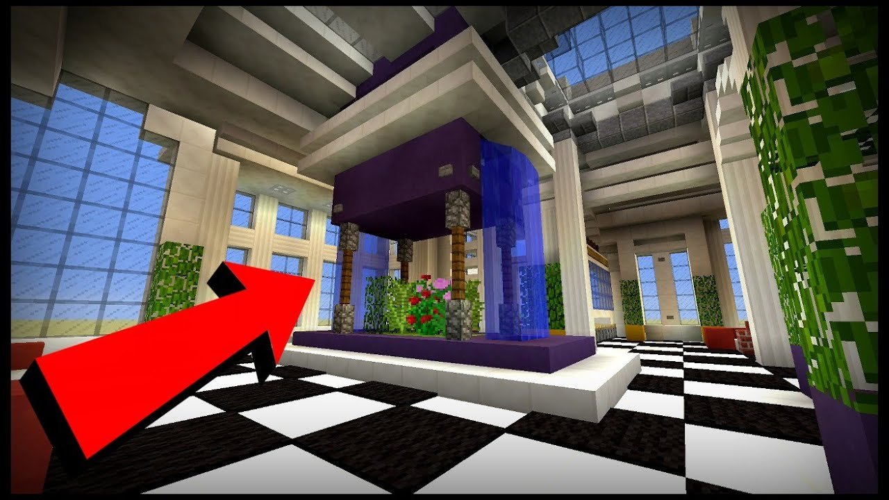 Minecraft Living Room Design Ideas - YouTube
