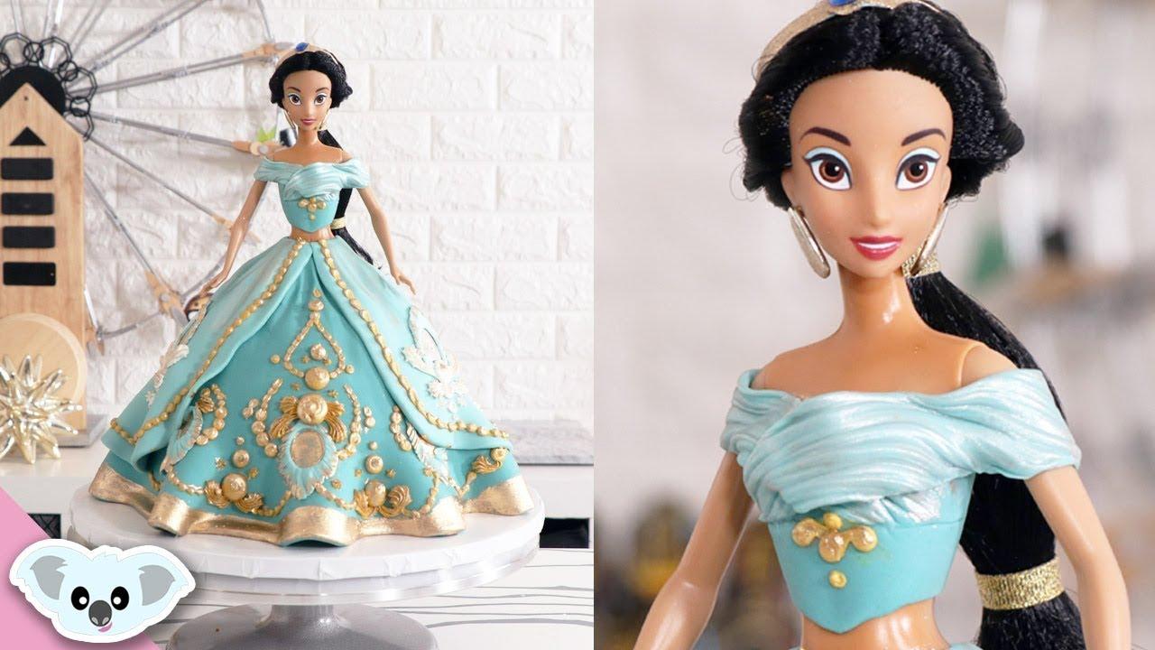 Princess Jasmine Cake Doll Cake Aladdin Cake Art Koalipops