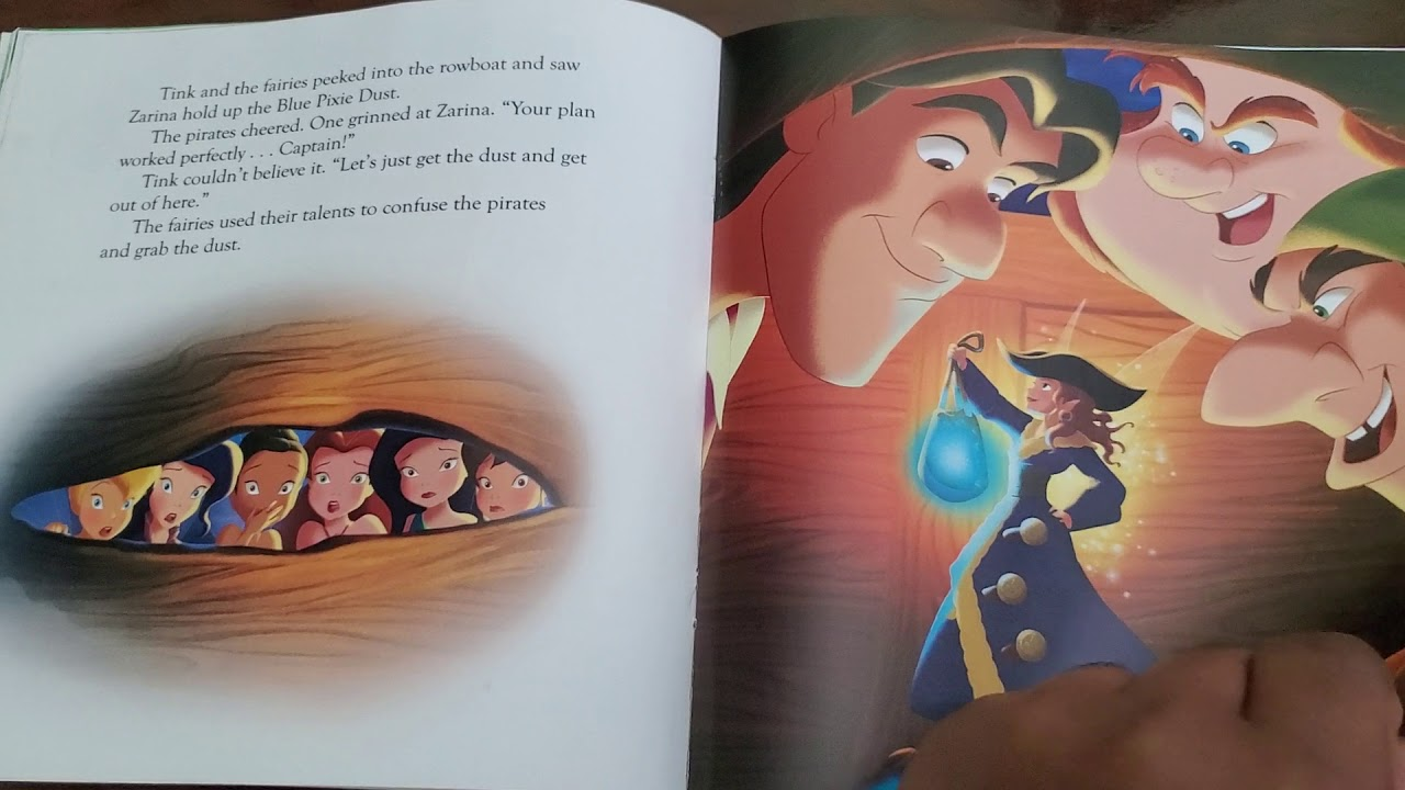 Download Disney Fairies: Tinker Bell and the Pirate Fairy (2014) Read-along Storybook and CD