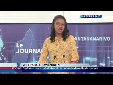 JOURNAL DU 19 FEVRIER 2020 BY TV PLUS MADAGASCAR