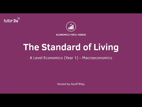 Measuring the Standard of Living