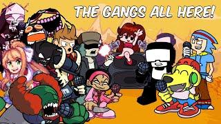 Friday Night Funkin but EVERYONE SINGS IT... (Ugh, Guns, Animal, Nerves) FNF Mods #26