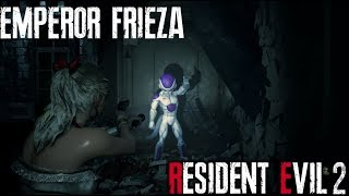 Emperor Frieza from Dragon Ball Z in Resident Evil 2 Remake - MOD