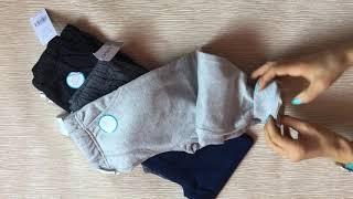Видеообзор штаны спортивные Carters котон с манжетом