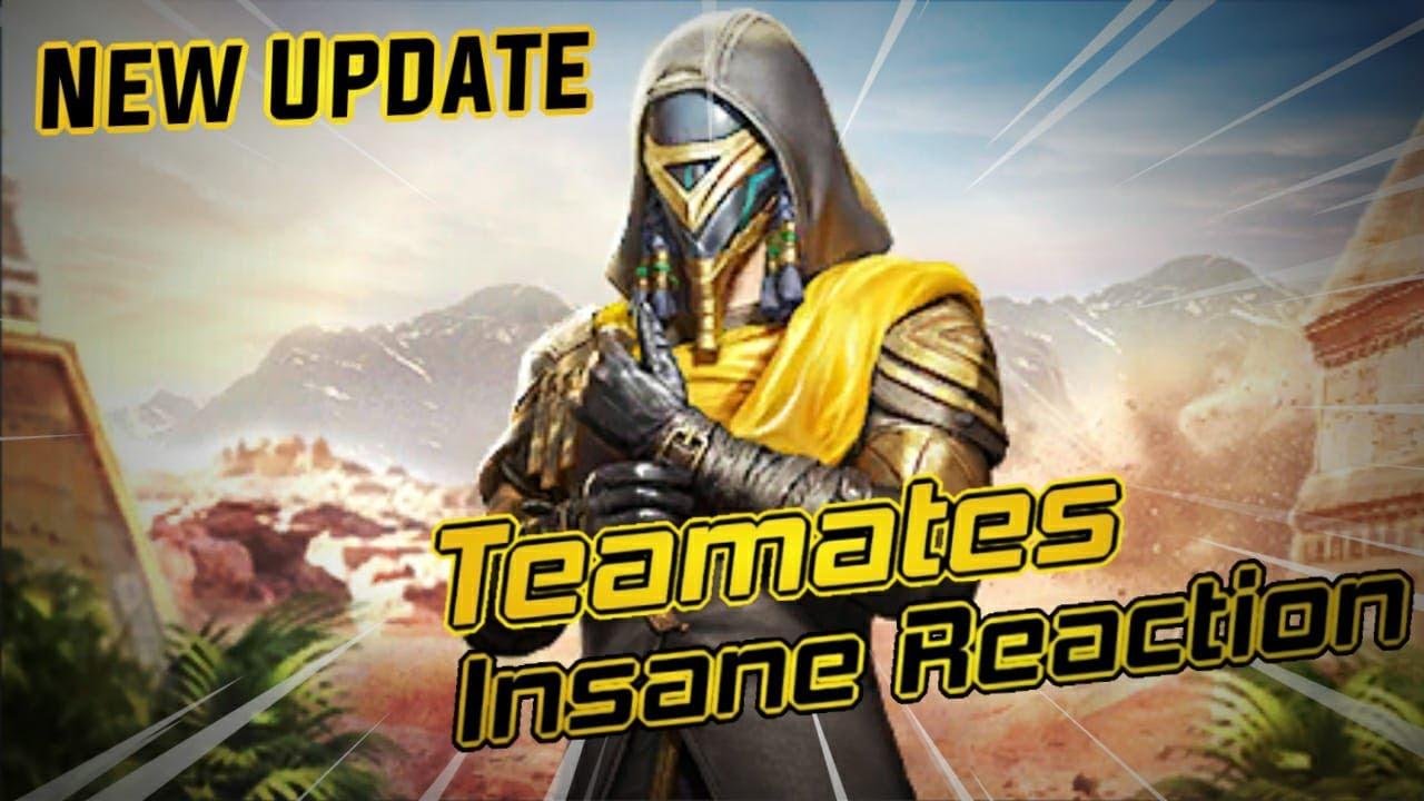 New Update Mummy In Pubg Mobile / Teamates Insane Reaction / Zalim