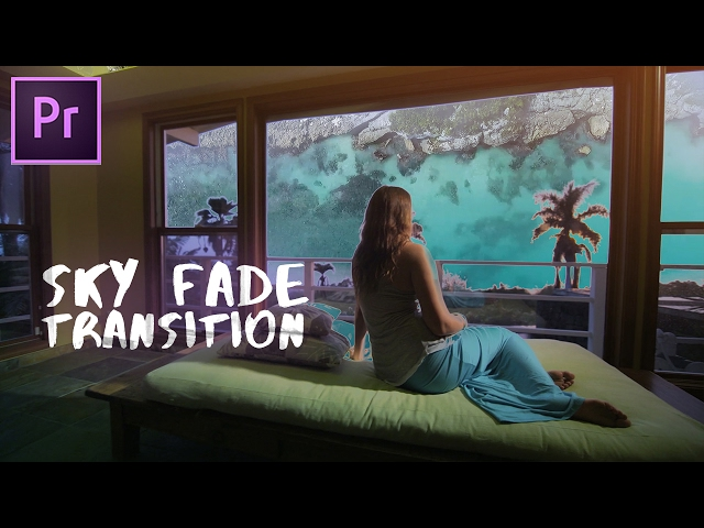 EASIEST Luma Fade Transition | Adobe Premiere Pro CC 2017 Tutorial (How to)