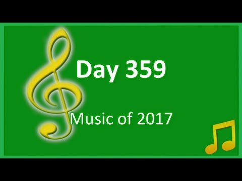 Day 359: Music of 2017