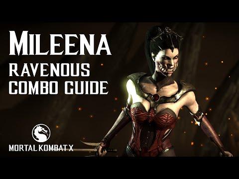 Mortal Kombat X: MILEENA (Ravenous) Combo Guide