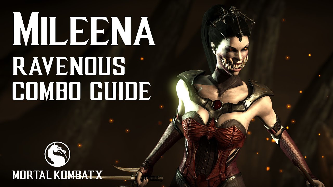 Mortal Kombat X Mileena Ravenous Combo Guide Youtube