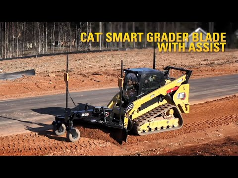 Cat Smart Grader Blade with Assist