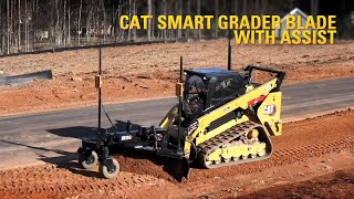 Cat® Smart Grader Blade with Assist