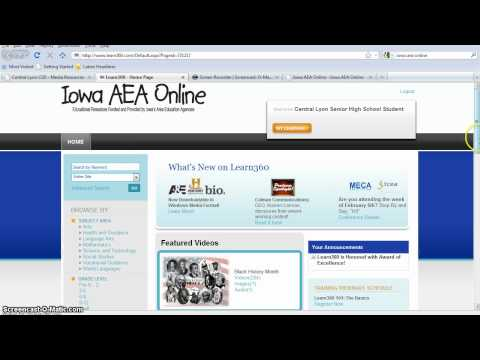 Iowa AEA Resources and the Central Lyon Library