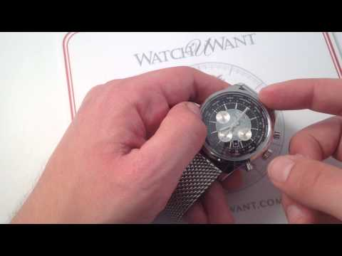 Breitling Transocean Chronograph Unitime Luxury Watch Review