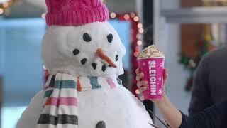 Snowmanin': Dunkin' Holiday Signature Lattes