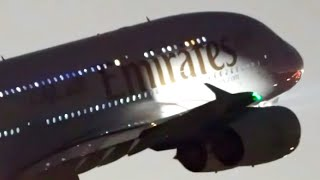 14 Late Night Takeoffs | 747 A380 A350 | Melbourne Airport Plane Spotting