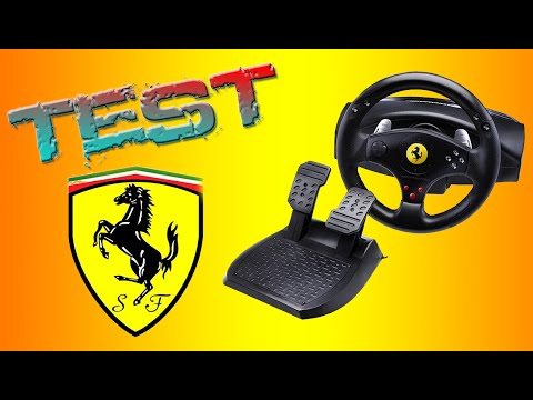 Thrustmaster Ferrari.Тест от Best Video Tests