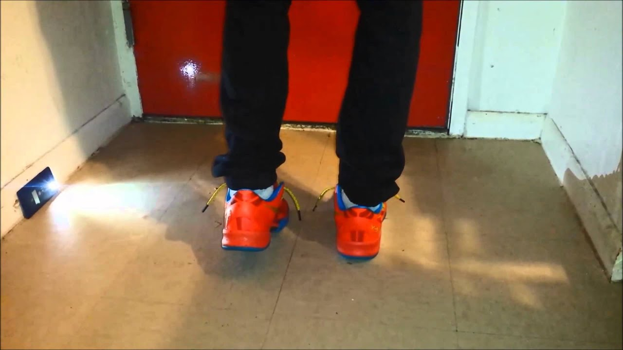 de24a906f49 Kobe 8 YOTH On Foot Review - YouTube