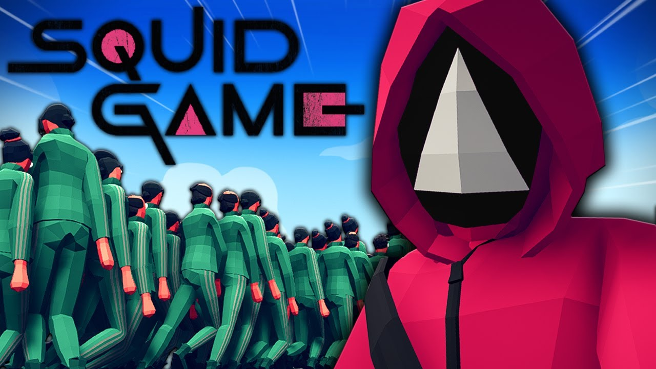 TABS Squid Game!? TABS Squid Game VS ALL UNITS! Totally Accurate Battle Simulator Gameplay
