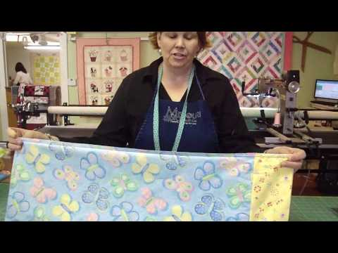Make An Easy Tube Pillow Case With Jenny Doan Of Missouri Star (Instructional Video)