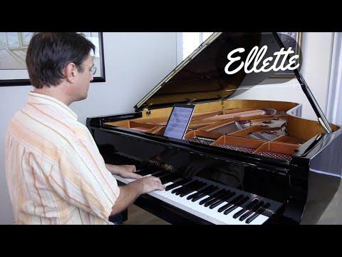 Ellette - David Hicken (Faeries) Piano Solo
