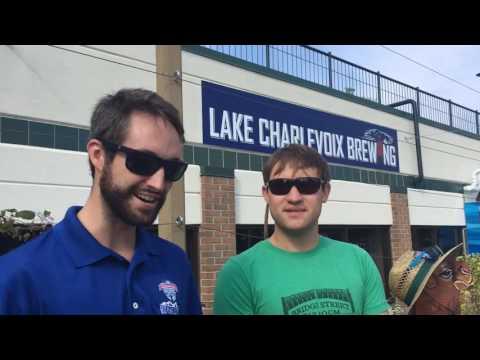 Lake Charlevoix Brewing Sinks Firkin