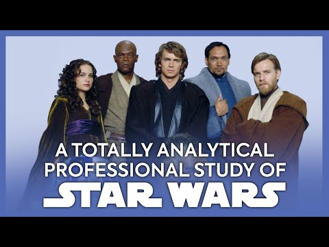 A Totally Analytical And Professional Study Of Star Wars: Revenge Of The Sith