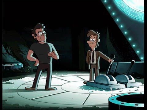 Gravity Falls ¿Quien escribió los diarios? Phil Los Guía A Lo Inexplicable