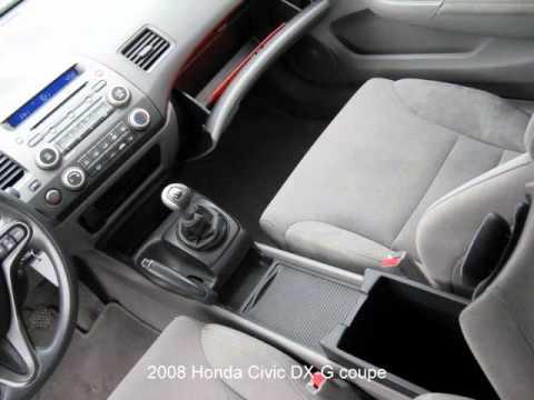 2008 Honda Civic Dx G Coupe Youtube